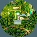 Територия лесного массива площадью 16 гектаров
